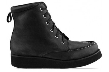 The Damned Vedder in Black Distressed size 10.0