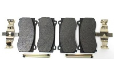 2006-2013 Dodge Charger Brake Pad Set Centric Dodge Brake Pad Set 104.11490 06 07 08 09 10 11 12 13