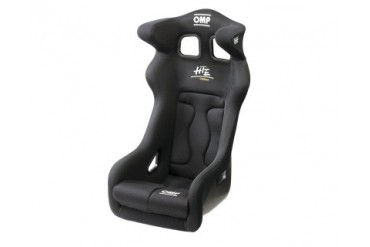 OMP HTE Carbon Racing Seat, Black