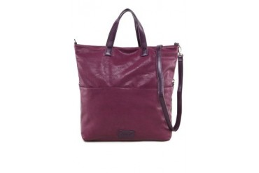 Faux Nappa Leather Top Handle