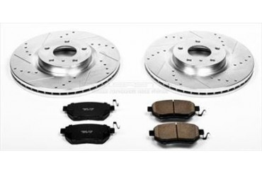Power Stop Performance Brake Upgrade Kit K116 Replacement Brake Pad and Rotor Kit