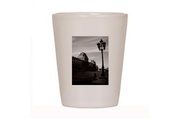 Paris Art Shot Glass by CafePress