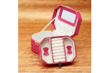 Fashional Cardboard/Leatherette Women's Jewelry Box (051038128)