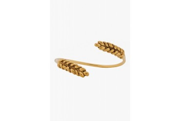 Aurlie Bidermann Yellow Gold Wheat Bangle