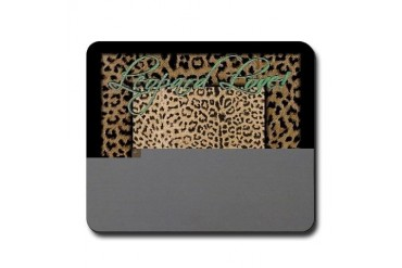 Leopard Love Love Mousepad by CafePress