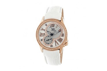 Sophie amp Freda Toronto Watch-Rose Gold White
