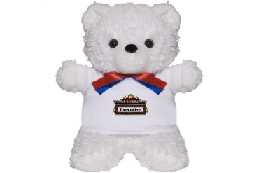 World's Greatest Executive Occupations Teddy Bear by CafePress