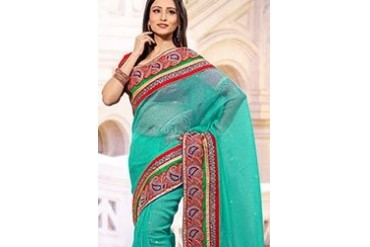 Exquisite Silk Organza Saree