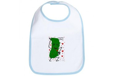 LOVE THAT PICKLE Love Bib by CafePress