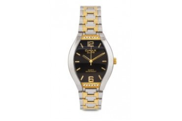 Omax AW0103SG Alloy Silver & Gold Watch