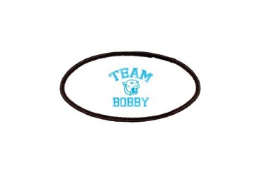 Team Bobby Funny Patches by CafePress