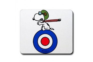 Flying Ace Snoopy Mousepad
