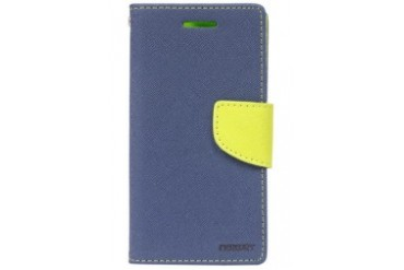 Mercury Case Fancy Diary Galaxy S3 [Navy/Lime]