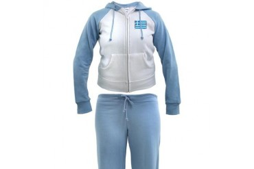 Greek Women's Tracksuit by CafePress