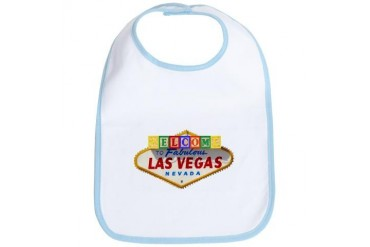 LV Baby Blocks Family Bib by CafePress