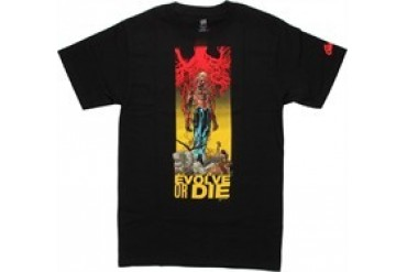 DC Comics Animal Man Evolve or Die Travel Foreman T-Shirt