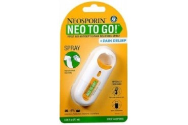 Neosporin Neo To Go! Antiseptic Pain Relieving Spray