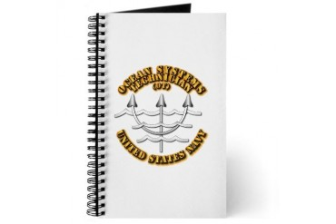 Navy - Rate - OT Navy Journal by CafePress
