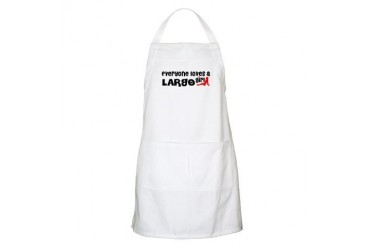 Everyone loves a Largo Girl Florida Apron by CafePress