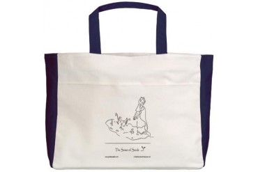 The Sower of Seeds Art Beach Tote by CafePress