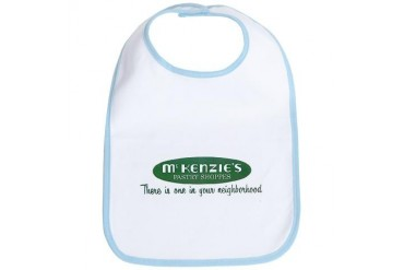 McKenzie's Pastry Shoppe New orleans Bib by CafePress