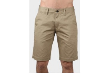 Travis Jeans & Co Travis Jeans Co Short Chinos Pants With Cotton Twill Khaki