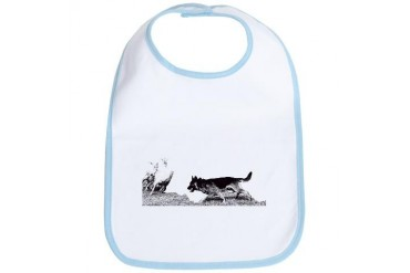 Herding Dog Bib by CafePress