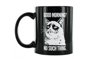 Grumpy Cat Good Morning No Such Thing Mug