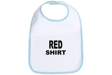 Red shirt 2.png Funny Bib by CafePress