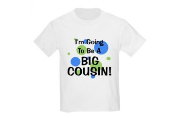 Going To Be Big Cousin! Kids Light T-Shirt