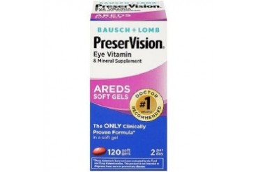 Bausch Lomb PreserVision AREDS Soft Gels