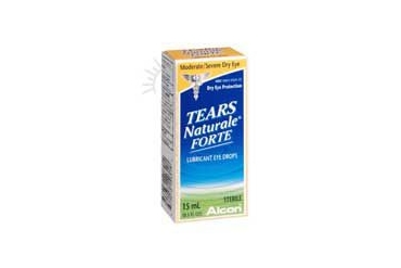 Alcon Tears Naturale Forte Lubricant Eye Drops 0.5 oz