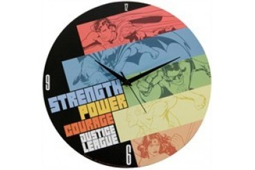 DC Comics Justice League Strength Power Courage Clock