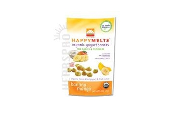 Happy Yogurt Melts Banana MangoBanana Mango 1 oz(case of 8)