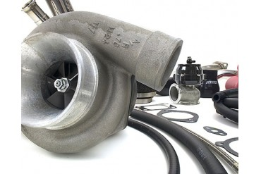 Perrin Performance Garrett GT3076R .63AR Rotated Turbo Kit Subaru WRXSTI 08-14