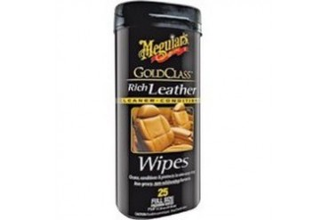 6 Pack Meguiar S Inc. G10900 Gold Class Leather Wipes