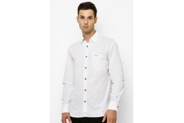 Intresse Casual Long Sleeve Cotton Poplin