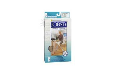 Jobst Opaque Compression Stockings 20-30 Closed Toe Knee Highs Beige Medium each