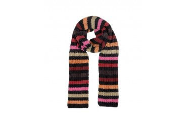 Multico Cardinal Large Stripes Wool Women's Scarf
