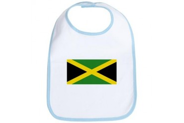 Flag of Jamaica Flag Bib by CafePress