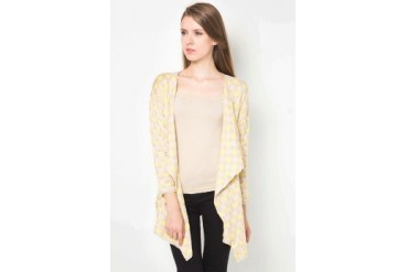 (X) S.M.L Layer Hole Cardigan