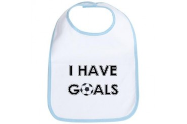 I HAVE GOALS Sports Bib by CafePress