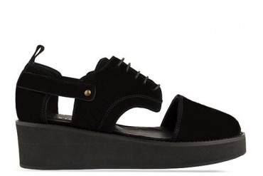 Minimarket Plateau Cut Out in Black size 11.0