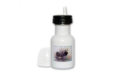 Elk Wildlfie art Art Sippy Cup by CafePress