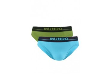 Mundo 2 Pcs Pack Mini Brief