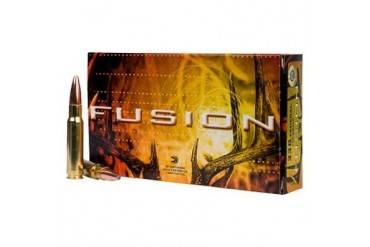 Federal Fusion Rifle Ammunition - Federal Ammo 300 Win Mag 165gr Fusion