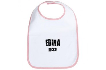 Edina Rocks Minnesota Bib by CafePress