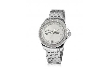 Easy Calligraphy - Signature Crystal Bezel Date Watch