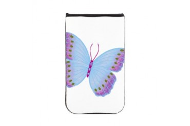 Purple Blue Butterfly Animal Kindle Sleeve by CafePress