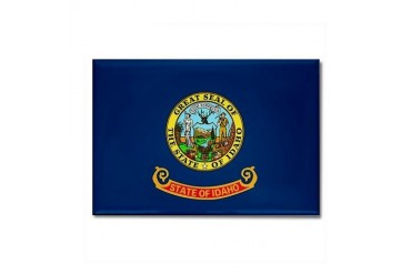 Idaho State Flag Flag Rectangle Magnet by CafePress